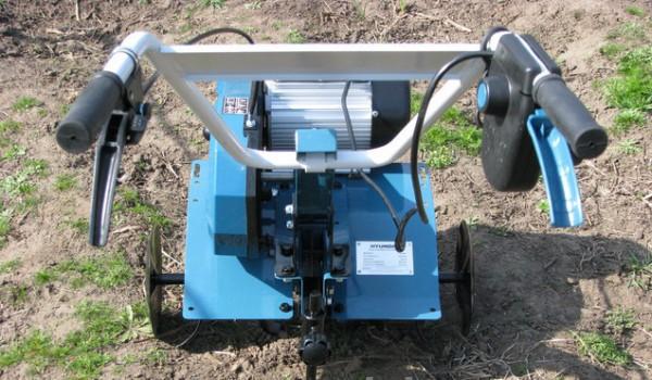 Культиватор электрический hyundai T2000-E фото