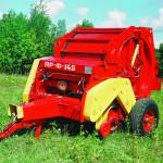 Пресс-подборщик рулонный ПР Ф 145 красный
