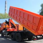 Самосвал КАМАЗ-53229 с КМУ KANGLIM