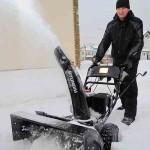 Тест драйв снегоуборщиков