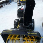 Снегоуборщик Champion ST1086BS крупным планом