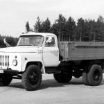 ГАЗ 53 чернобелое фото