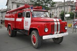 ГАЗ 53 пожарная машина