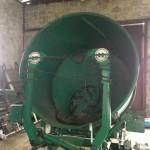 Измельчитель рулонов грубых кормов ИРК-145 после работ