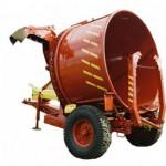 Измельчитель рулонов грубых кормов ИРК-145 в профиль красный