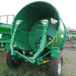 Измельчитель рулонов грубых кормов ИРК-145 сзади