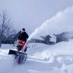 Как завести снегоуборочную машину