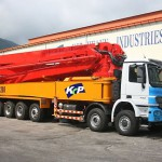 Автобетононасос KCP 68ZX200