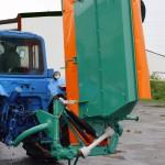 Косилка плющилка роторная КП-2,4В перед работой