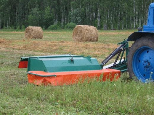 Косилка плющилка роторная КП-2,4В