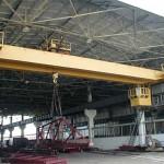 Мостовой кран с листобалочной конструкцией