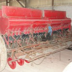 Cеялка зерновая СЗ 3 6 после работ