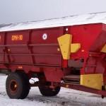Cмеситель раздатчик кормов СРК 10 красный
