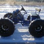 Снегоход из мотоблока Нева