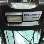 Снегоуборщик Husqvarna 9027 STE фонарь