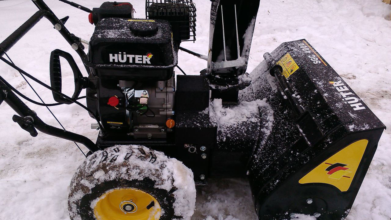 Ремонт снегоуборщика своими руками huter 48