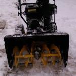 Снегоуборщик HUTER SGC 4000 спереди