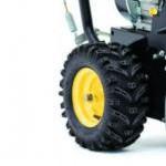 Снегоуборщик Huter SGC 6000 колесо