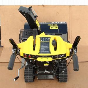 Снегоуборщик Huter SGC 8100C сзади