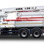 Автобетононасос K31-XZ CIFA