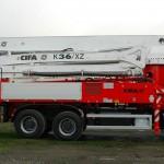 Автобетононасос K36-ZX CIFA