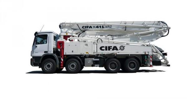 Автобетононасос KZR-24 CIFA