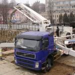 Автобетононасос Zoomlion на базе Volvo