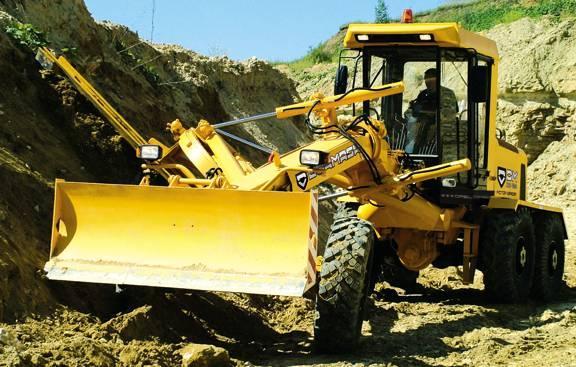 Автогрейдер ДЗ 122 желтый