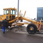 Автогрейдер ДЗ 122 после работ