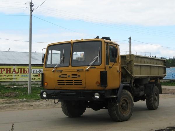 Автомобиль КАЗ-4540 Колхида