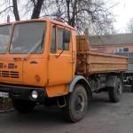 Автомобиль КАЗ-4540 с прицепом