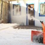 Бензиновый снегоуборщик Prorab GST 65 ELV начало работы