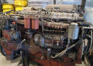 Двигатель автогрейдера ДЗ 122