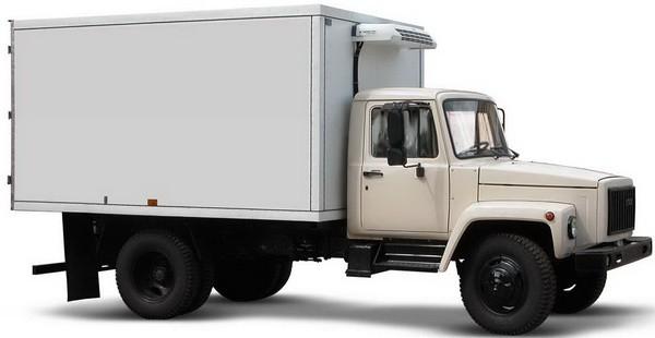 ГАЗ 4301 белый