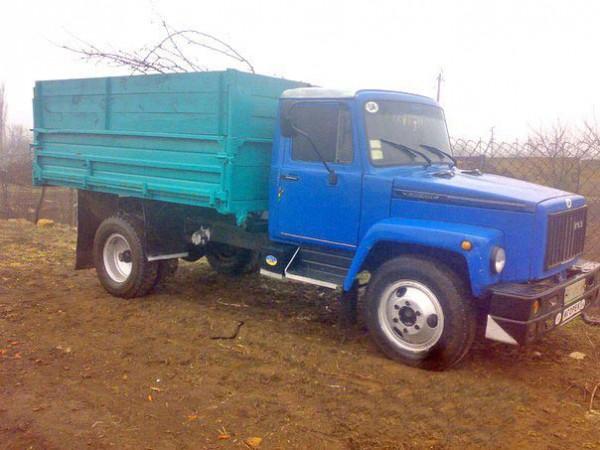 ГАЗ 4301 профиль