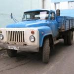 ГАЗ 53 синие борты