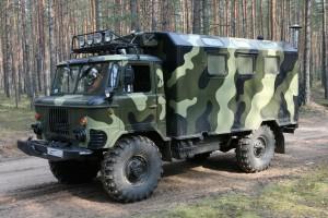 ГАЗ 66 камуфляжный тип