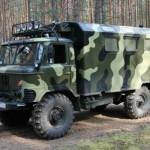 ГАЗ 66 коммуфляжного типа