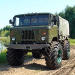 ГАЗ 66 вездеход