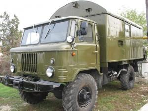 ГАЗ 66 закрытый кузов