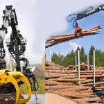 Kesla: гидроманипуляторы от мирового производителя для лесозаготовительных работ