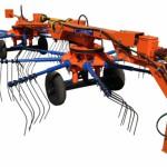 Грабли - ворошилка ГВР-6 оранжевая
