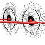 Грабли - ворошилка Солнышко 5 колес