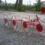 Грабли ворошилки солнышко на 4 колеса