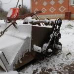 Гребнеобразователь активный 2-х рядный в зимнее время