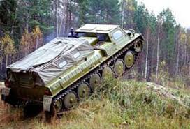 Гусеничный транспортер ГАЗ 34039