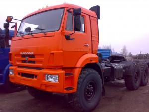 КамАЗ 44108 оранжевый