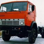 КамАЗ 5410 красный