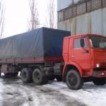 КамАЗ 5410 с полуприцепом ODAZ 9370
