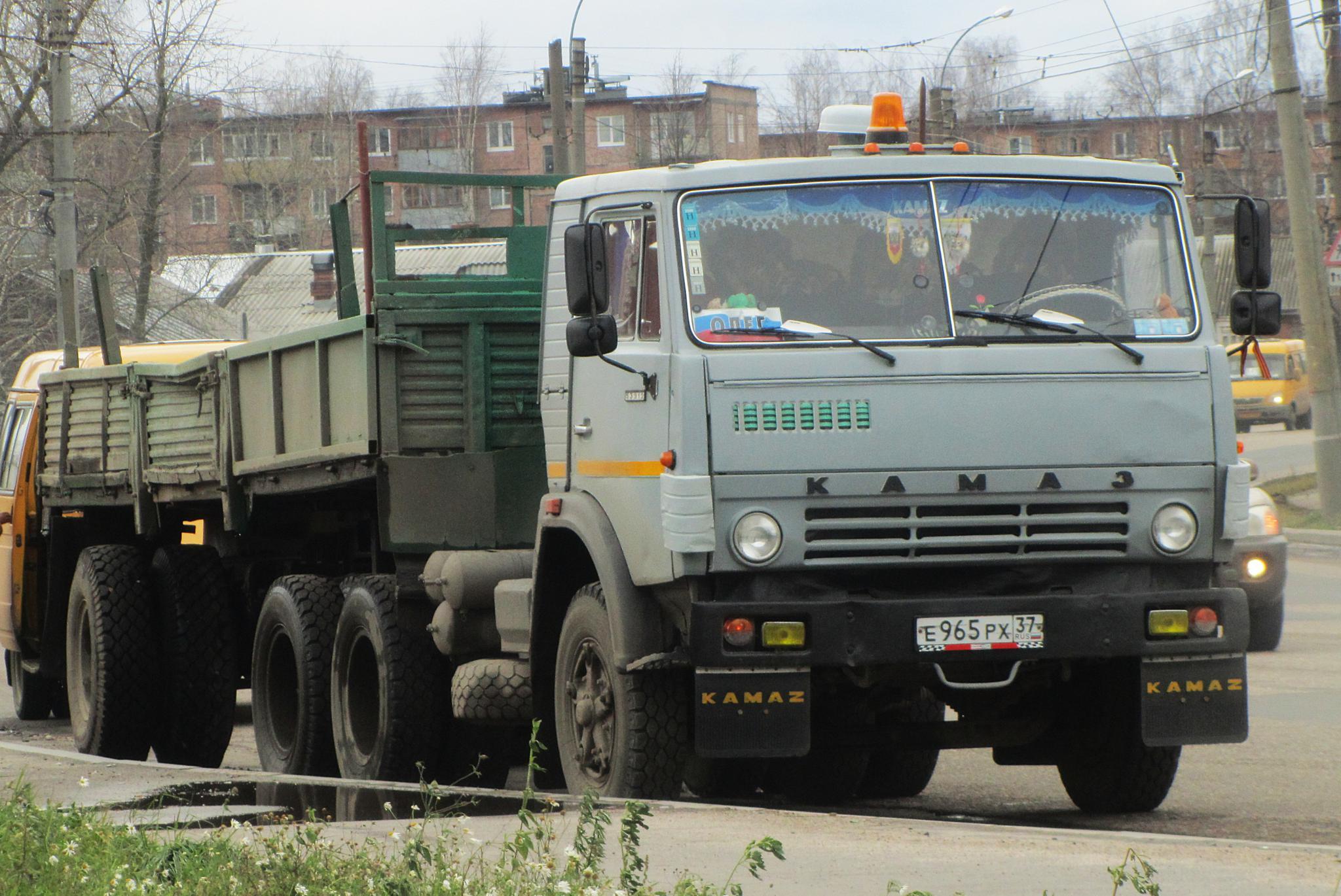 КамАЗ 5410 с полуприцепом